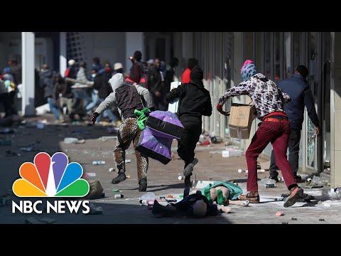 ЮАР погружается в хаос