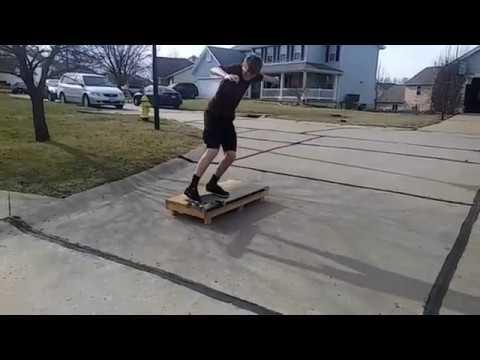Skateboarding box clips
