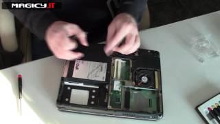 Fujitsu Lifebook T730 Disassembly