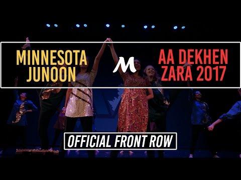 [2nd Place] Minnesota Junoon | Aa Dekhen Zara 2017 [Official Front Row 4K]