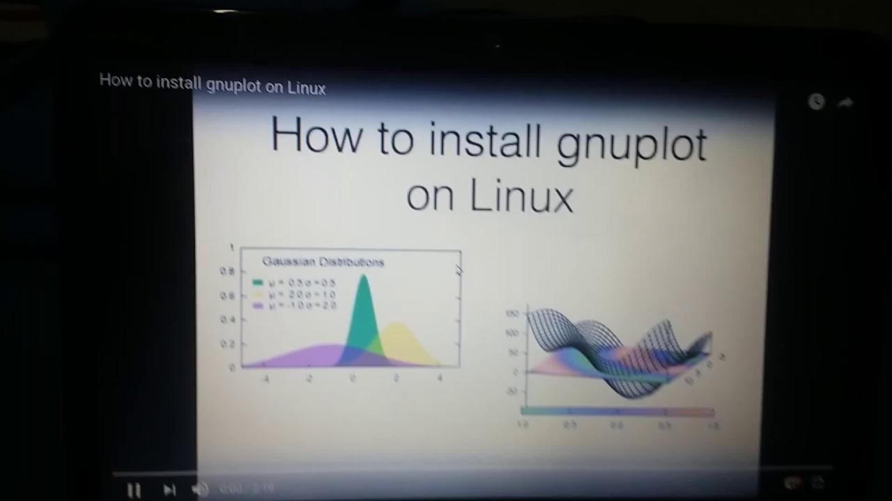 Gnuplot Install