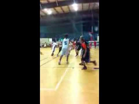 11 year old Phenom Power Forward Tayven Glasgow business as usual on the court!