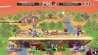 SCR Prelude II - Zfly/Warchief Vs. Fox16/mattyice Doubles Winners Side - Smash Wii U