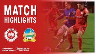 HIGHLIGHTS | Larne 4-1 Linfield