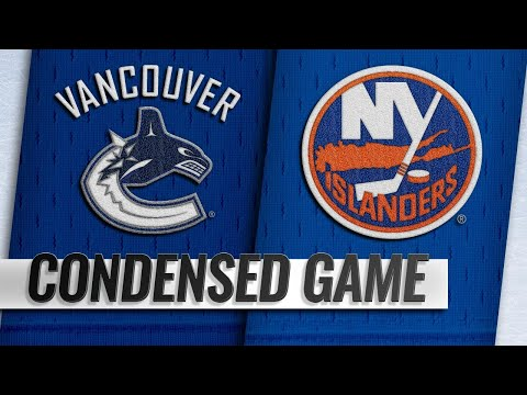 11/13/18 Condensed Game: Canucks @ Islanders