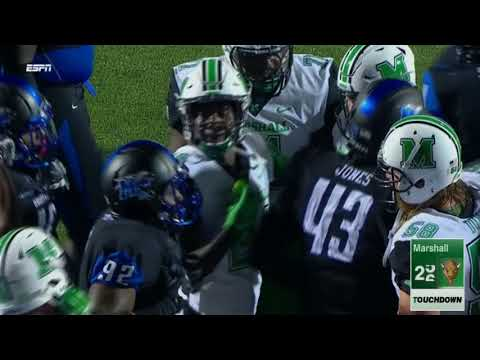 Marshall Highlights vs Middle Tennessee Football 2017
