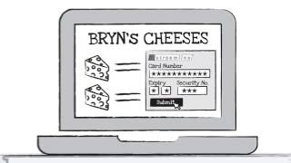 Online payments - Making Bryn The Big Cheese