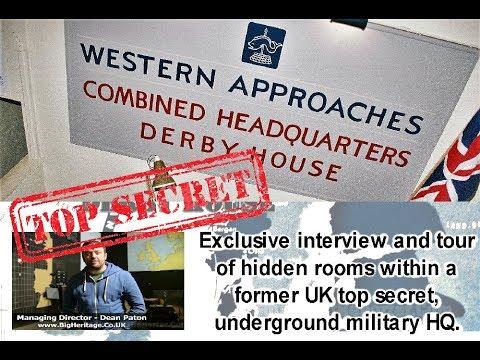 Western Approaches -  War II Top Secret Underground Headquarters - New Rooms found!