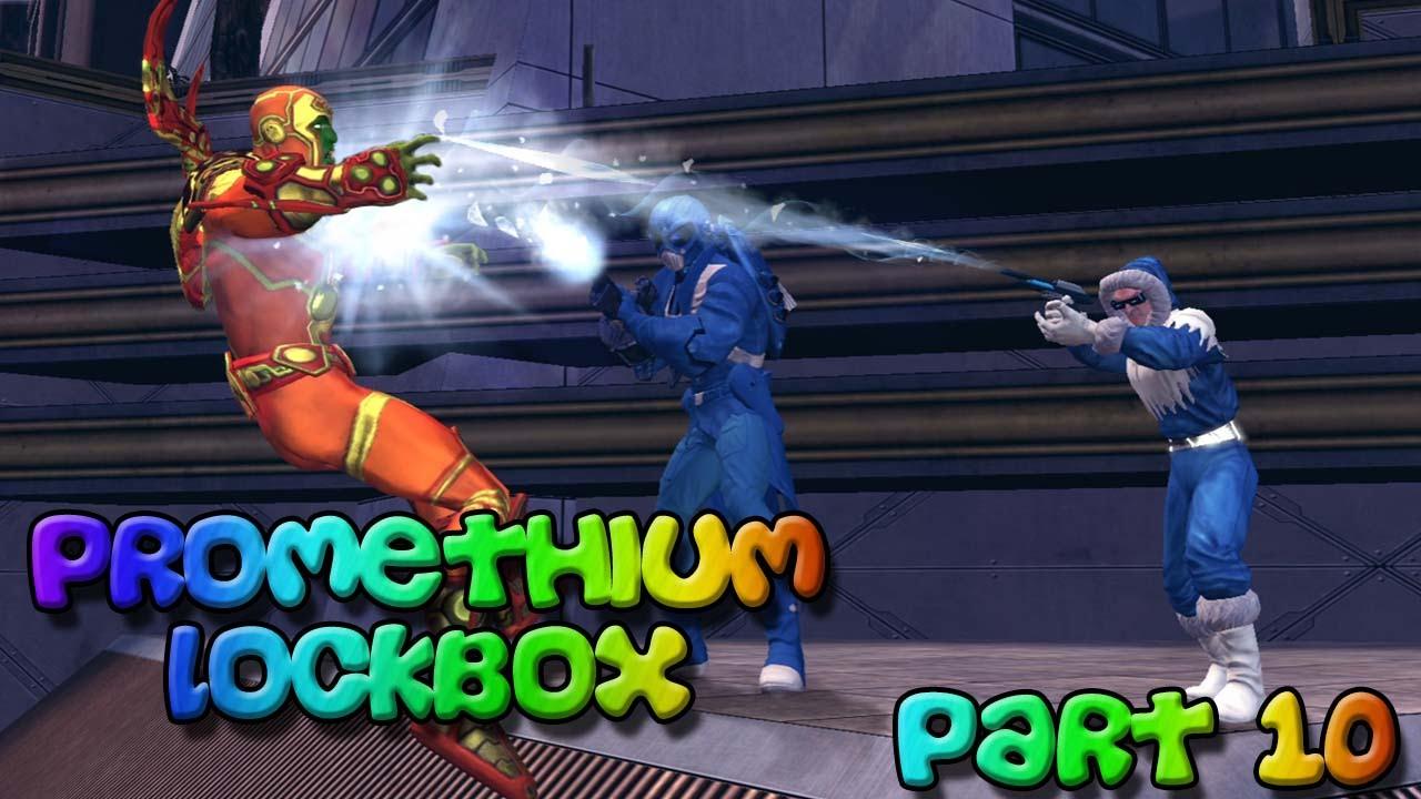 Dcuo Promethium Lockbox Unboxing And New Style Part 10