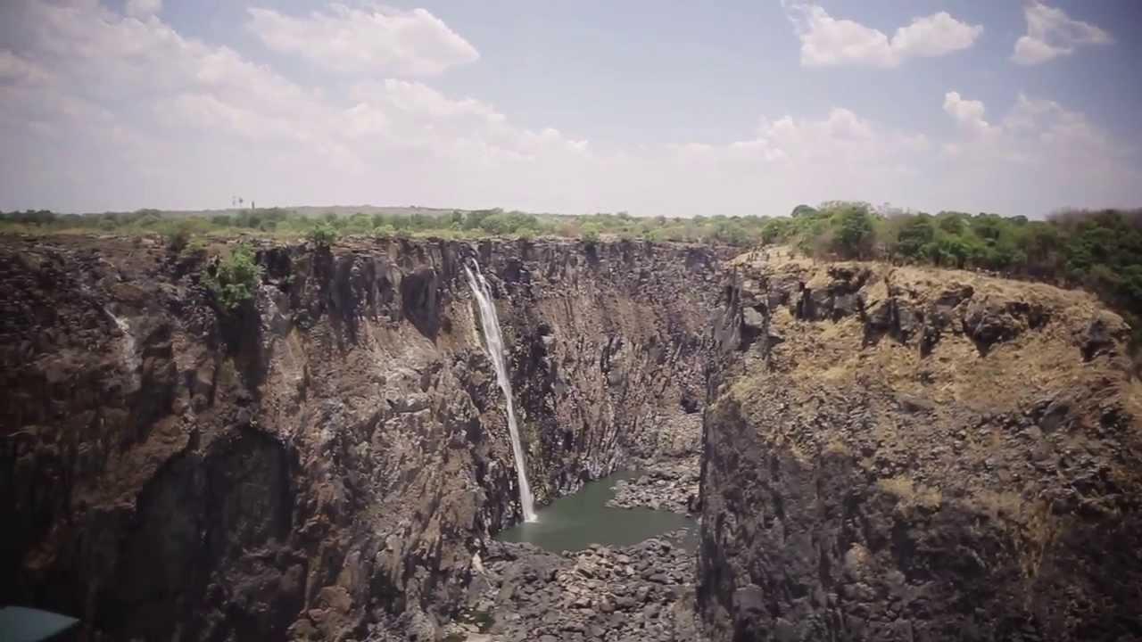 旅する鈴木436 Victoria Falls In Dry Season Zimbabwe