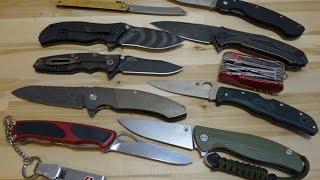 Мой ТОП 10 складных ножей за 2015 год