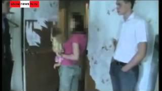 бухая мать бьёт 2-месячного сына о шкаф Real Video. (новости)
