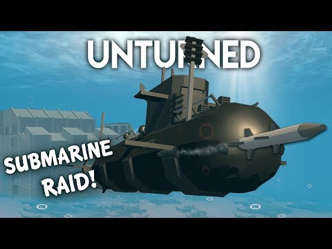 Unturned | Submarine Raid! (Roleplay Survival)