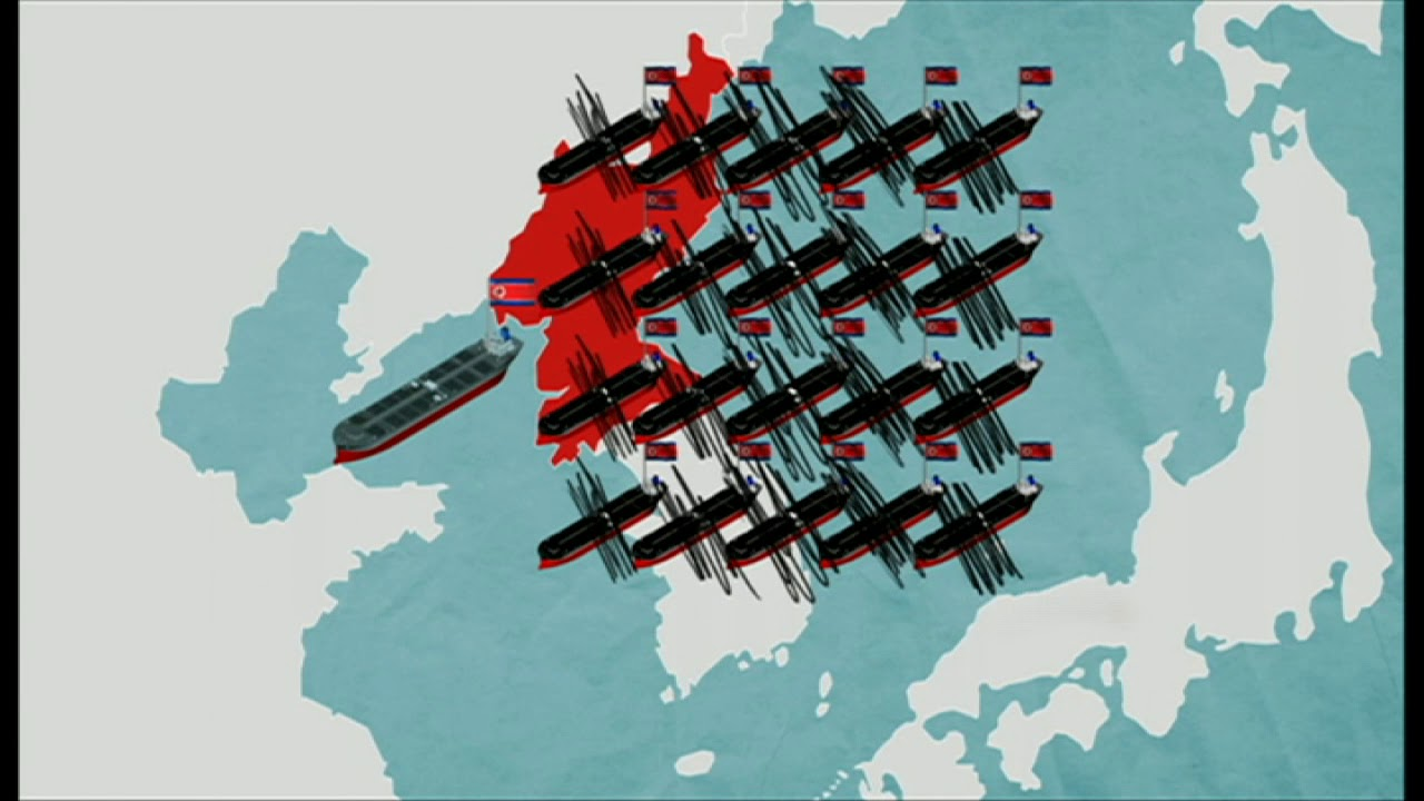 BBC عربية:#بي_بي_سي_ترندينغ:  كيف تتهرب #كوريا_الشمالية من العقوبات الدولية؟