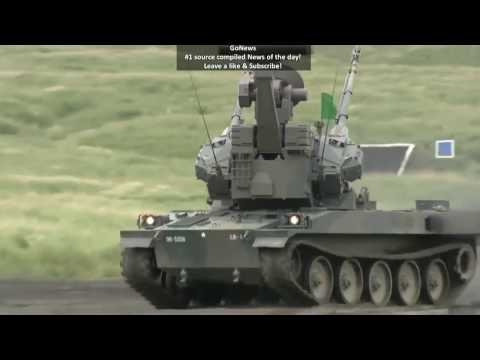 LIVE JAPAN MILITARY EXERCISES! GREAT FIREPOWER! 2017