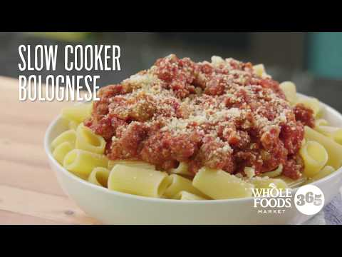 Slow -Cooker Bolognese Sauce   Recipes   Whole Foods Market 365