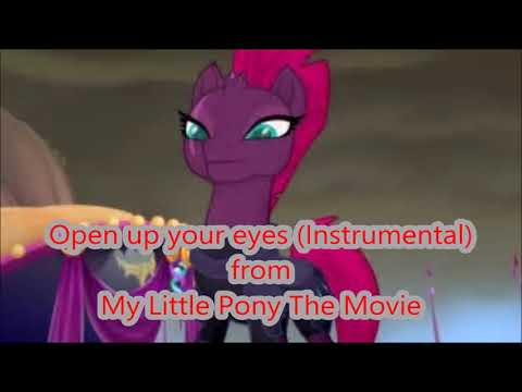 Open Up Your Eyes (instrumental/Karaoke) My Little Pony The Movie