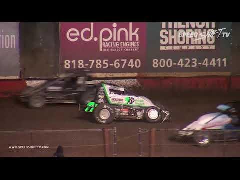 USAC Sprint Feature | Perris Auto Speedway 11.8.18