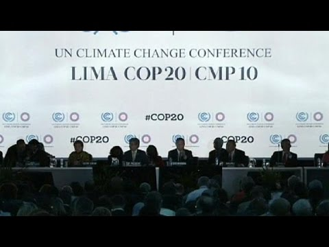 Climate Change summit kicks off in Lima - no comment