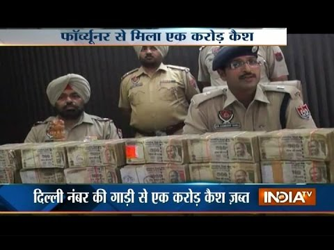 Ludhiana Police Seizes Rs 1 Crore Cash from An SUV, 2 Arrested