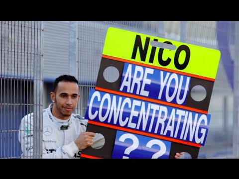 Lewis Hamilton Vs Nico Rosberg Final Race Funny Commercial CARJAM TV 4K 2015