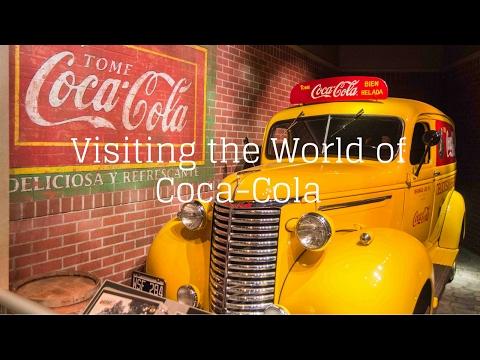 Visiting the World of Coca Cola in Atlanta