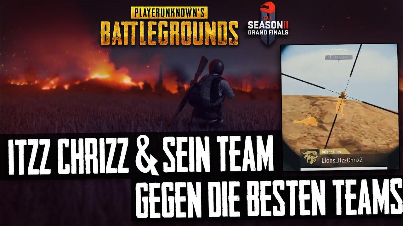 PUBG - ITZZ CHRIZZ gegen die besten Teams der Welt - Twitch Stream Highlight Gameplay Deutsch German