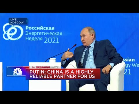 Russia's Putin: China is highly reliable partner for us
