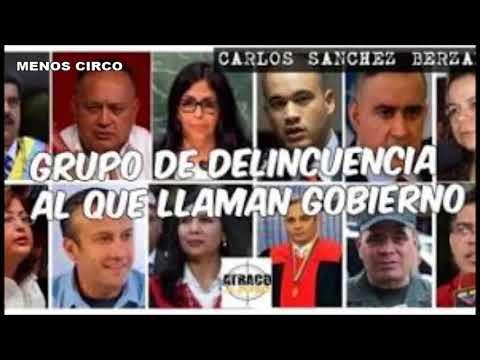 !A LA CÁRCEL! APLICAN CONVENCIÓN DE PALERMO A MADURO Y SU GRUPO CRIMINAL