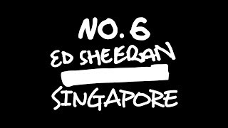 Ed Sheeran x Singapore: No.6 Collaborations Project Pop-Up Store