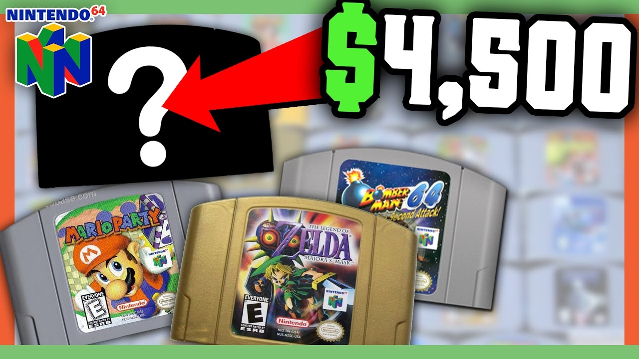 rare n64 games worth money most valuable nintendo games youtube rh youtube com Best Super Nintendo Games Super Nintendo Games Box