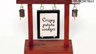 Custom Menu Holder-menu Holder-menu Stand-suppliers-restaurant Menu Tags-buy-table Menu Tag Stand
