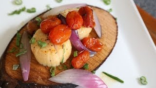 Smoked Planked Scallops Recipe