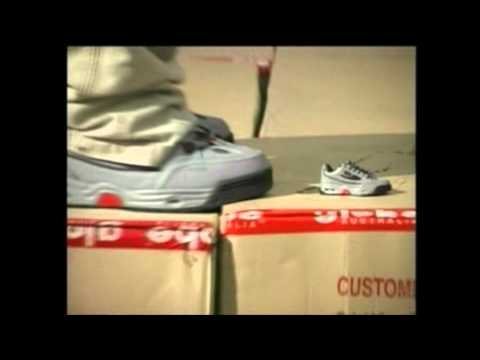 Rodney Mullen Globe Shoes Limted Edition Commercial
