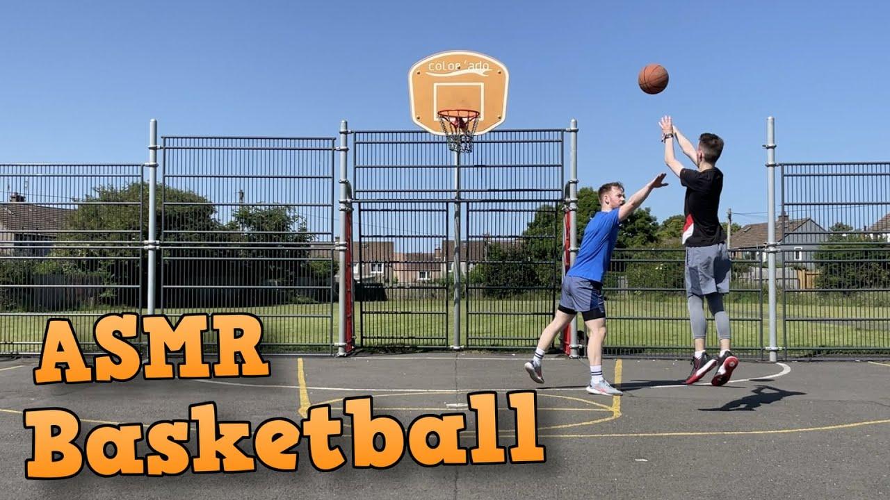 [ASMR] Basketball in Real Life!
