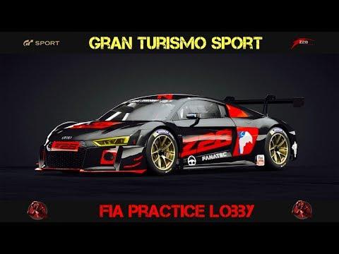 GT Sport - FIA Lobby Practice