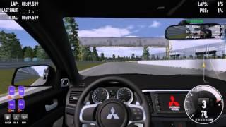 "(racing gameplay) ""simraceway"" free multiplayer/online racing simulator 9400gt geforce"