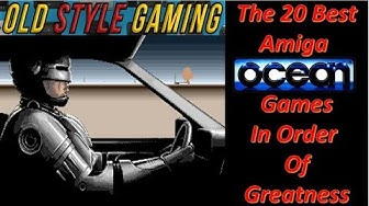 The 20 Best Commodore Amiga Ocean Games In Order Of Greatness