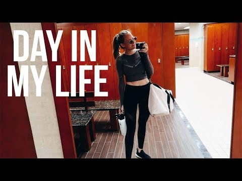 HEALTHY Day In My Life  Ab & Cardio Workout Post Gym Meal & What's In My Gym Bag