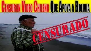 Censuran Emotivo Video Chileno Que Pide Mar Para Bolivia(Elaboran en Chile vídeo a favor de la demanda marítima boliviana. El vídeo fue elaborado por el portal chileno