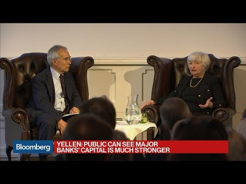 Yellen Says Banking System Is Much Safer and Sounder