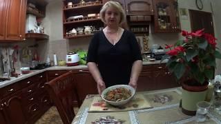 САЛАТ  «ТБИЛИСИ» МОЙ ВАРИАНТ , сбалансированный и полезный салат.
