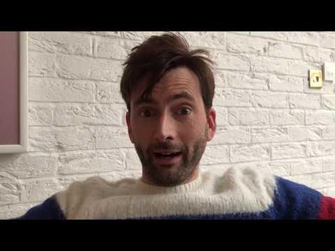 David Tennant Reacts To Fans Watching The Bad Samaritan Video