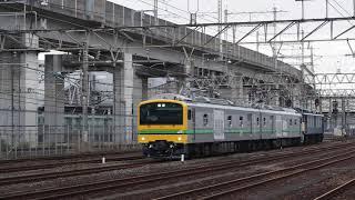 2021.5 常磐線9451M E493系東オク01編成+EF64 37連結走行試運転
