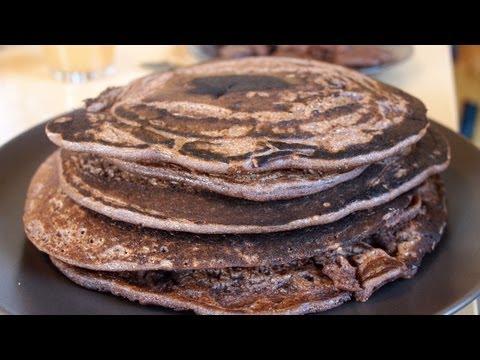 Wie man Haferflockenpfannkuchen macht, um Gewicht zu verlieren