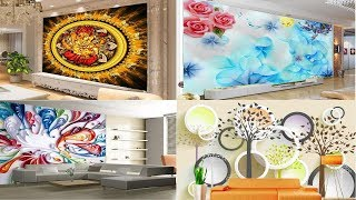 Latest 3D Wallpaper For bedroom living room Wallpaper For Walls In India 3d Customized Wallpapers