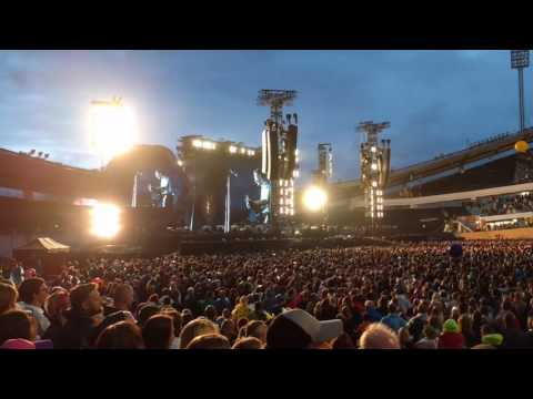 Coldplay tribute to Sweden and Gothenburg
