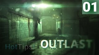 Let's Play Outlast - Ep 01 - Welcome To Mount Massive Asylum - Gameplay
