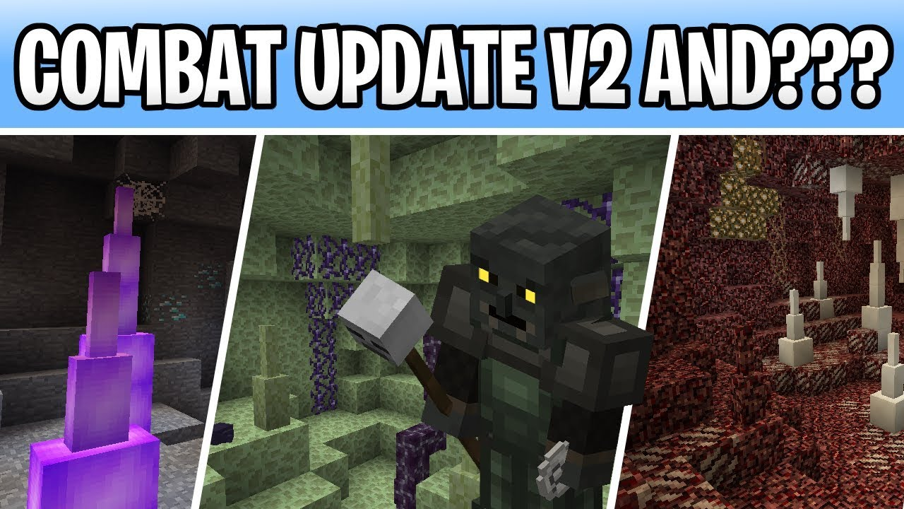 Minecraft 1.15 Combat Update & Cave, Nether, End ...