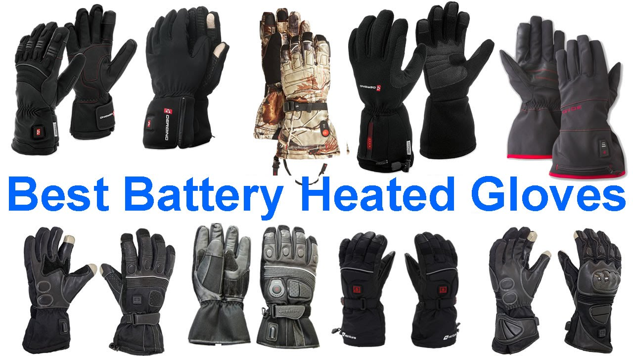 Motorcycle gloves heated battery - Best Battery Powered Heated Gloves 62 Models